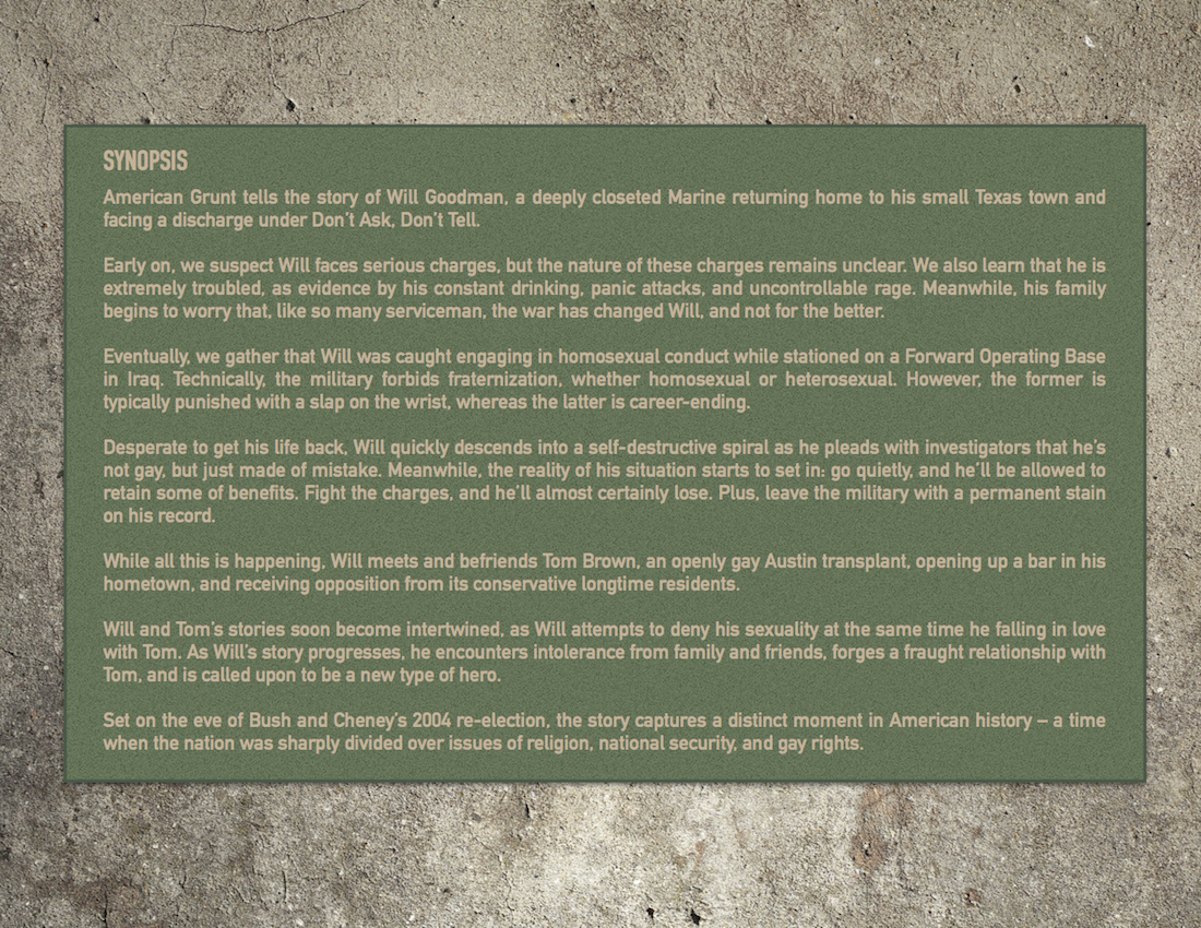 Am Grunt PP Synopsis 3